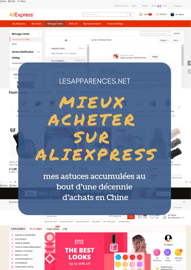 Mieux acheter sur Aliexpress