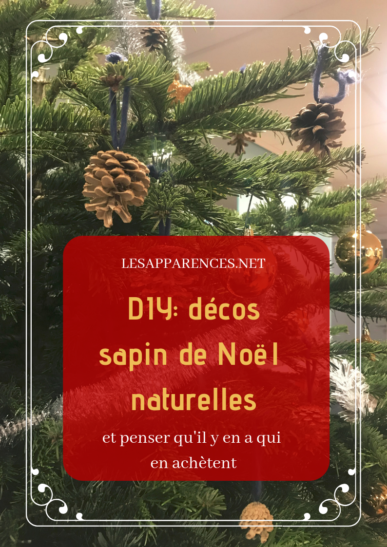 DIY: décorations de Noël naturelles