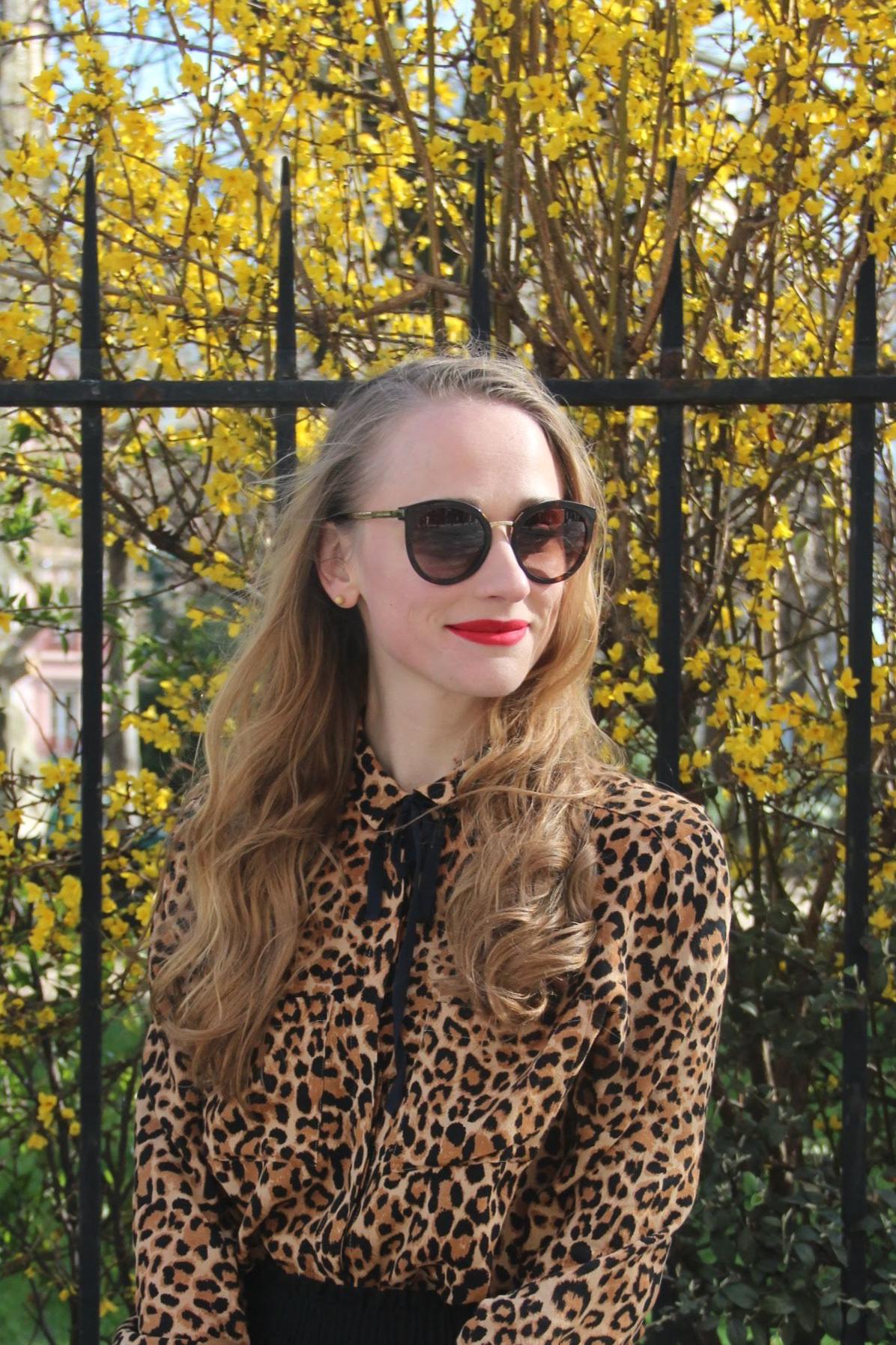 Rester élégante en Leopard