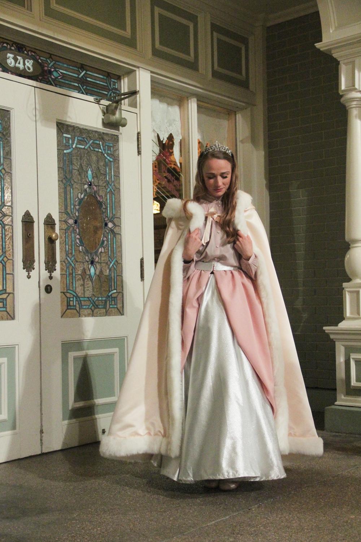 Je vous révèle ma robe de Princesse de la soirée Disneyland