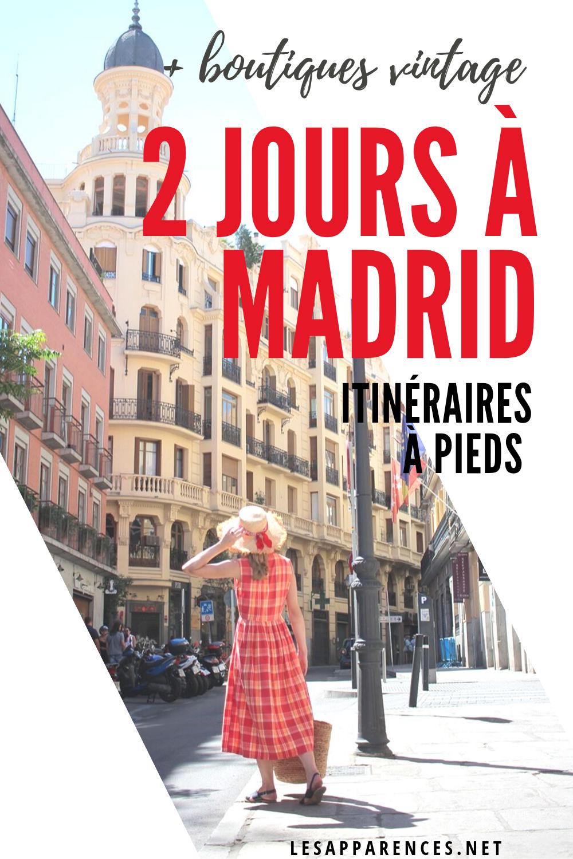 Découvrir Madrid en deux jours