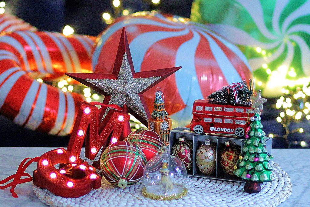 Décorations Noël Londres 2019