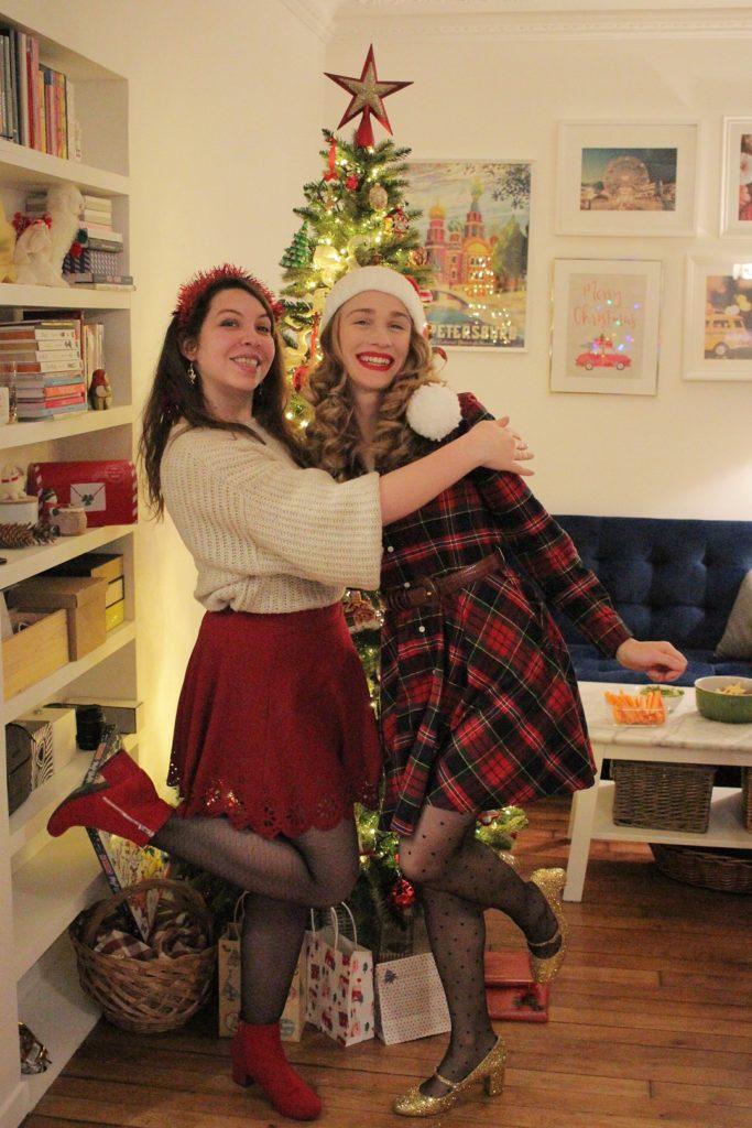 HoHoHo Party réveillon Noël fête réception amis