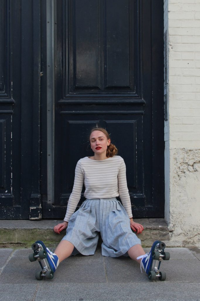 blogueuse mode patins roulettes