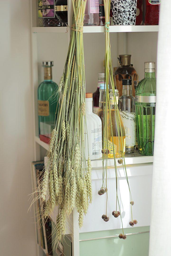 Bouquet de fleurs séchées DIY